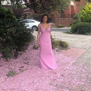 Lulus light pink wedding or event dress